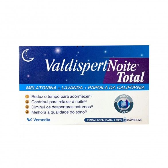 Valdispertnoite Total 30 Cápsulas