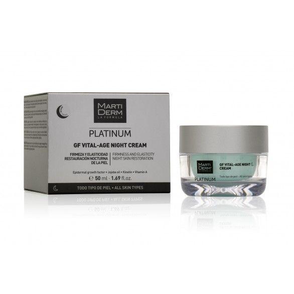 Martiderm Creme de Noite Platinum GF Vital-Age 50ml