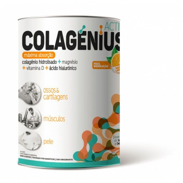 Colagenius Active Laranja Pó 345g