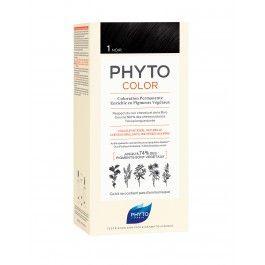 Phyto Phytocolor Coloração Permanente Tom 1 Preto