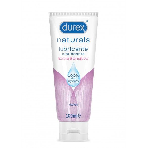 Durex Naturals Extra Sensitivo Gel Lubrificante 100ml