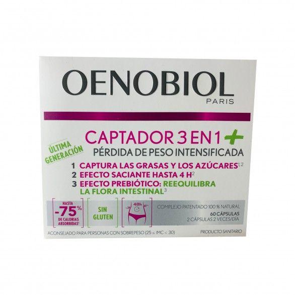 Oenobiol Captador 3em1+ 60 Cápsulas