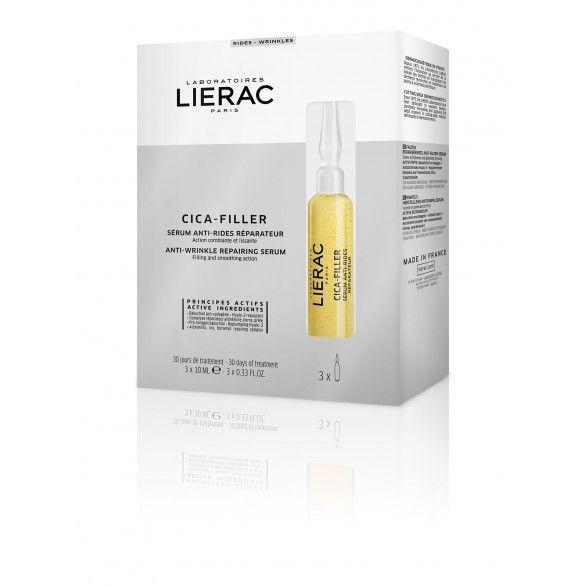 Lierac Cica-Filler Serúm Anti-Rugas Ampolas 3x10ml