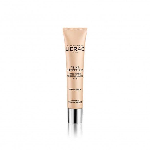 Lierac Teint Perfect Skin Fluido Aperfeiçoador Tom Bege Bronze 30ml