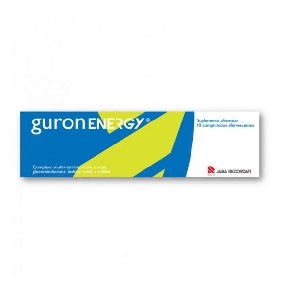 Guronenergy 10 Comprimidos Efervescentes
