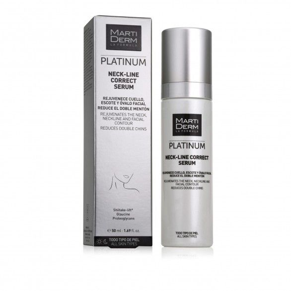 Martiderm Platinum Neck-Line Correct Serum 50ml