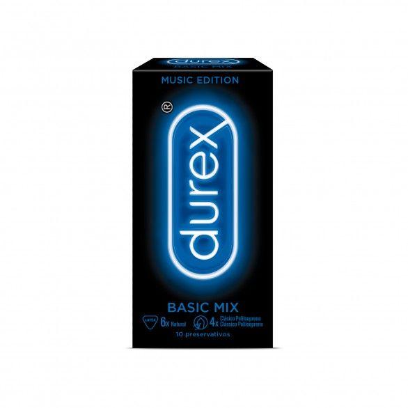 Durex Music Edit Basic Mix Preservativos X10
