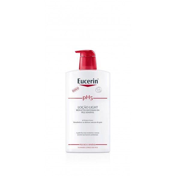 Eucerin pH5 Loção Light 1L com Desconto de 50%