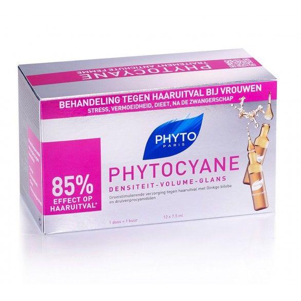 Phyto Phytocyane Sérum 12 Ampolas