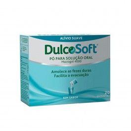 Dulcosoft Pó para Solução Oral 20 Saquetas