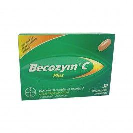 Becozyme C Plus 30 Comprimidos