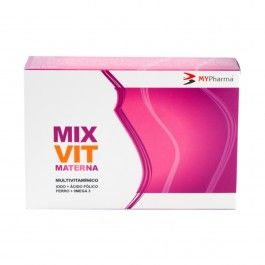 Mixvit Materna Lipid 30 Cápsulas