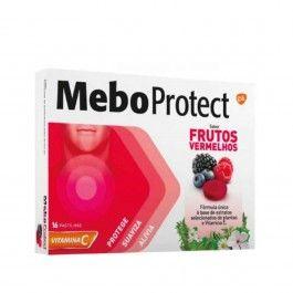 Meboprotect Frutos Vermelhos 16 Pastilhas