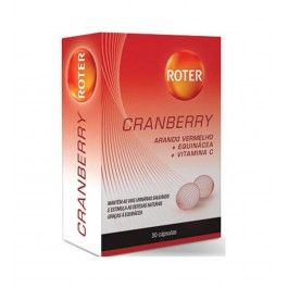 Roter Cranberry 30 Cápsulas