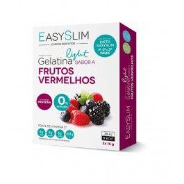 Easyslim Gelatina Light Frutos Vermelhos 2 saquetas 15g