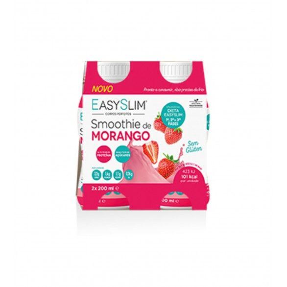Easyslim Smoothie Morango 2x200ml