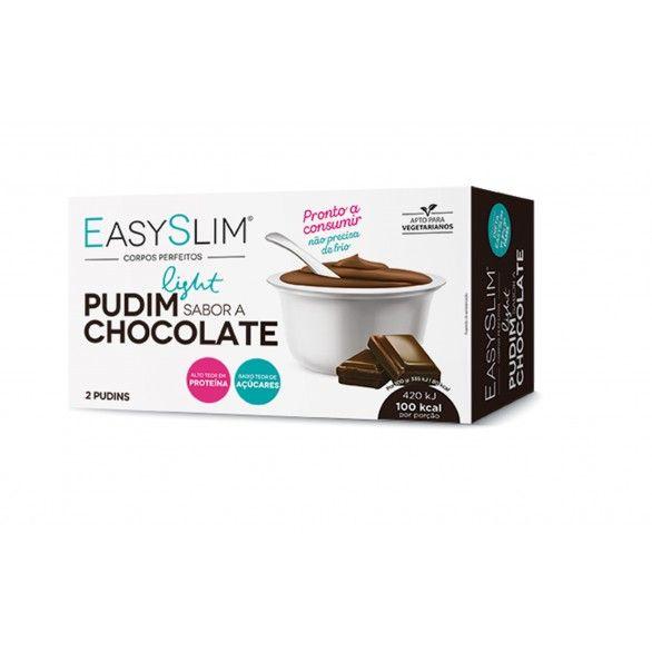 Easyslim Pudim Light Chocolate 250g