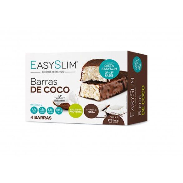 Easyslim Barras Coco 45g X4