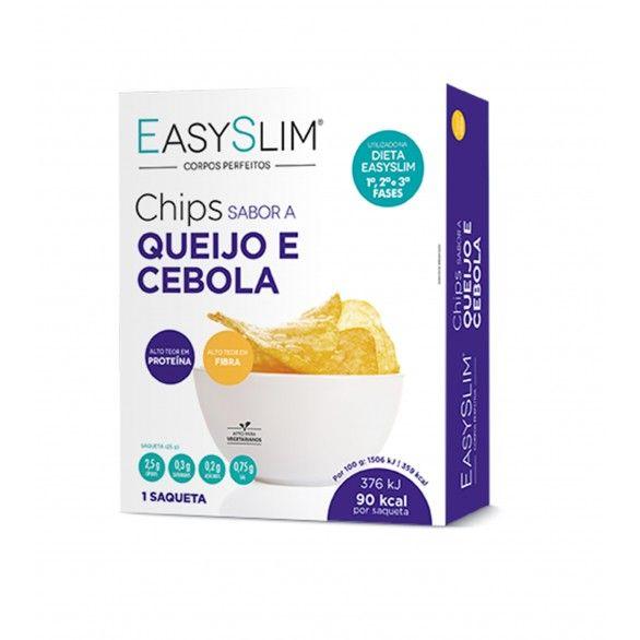 Easyslim Chips Queijo/Cebola 25g