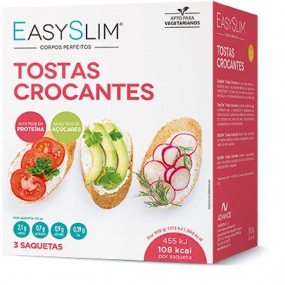 Easyslim Tostas Crocantes 30g X3