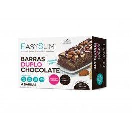 Easyslim Barras Chocolate Duplo 42g X 4