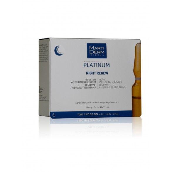 Martiderm Platinum Night Renew 10x2ml