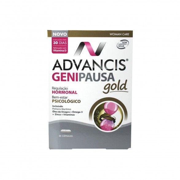 Advancis Genipausa Gold 30 Cápsulas
