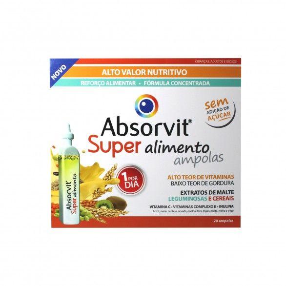 Absorvit Super Alimento Ampolas 20x15ml