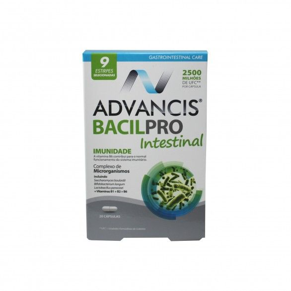 Advancis Bacilpro Intestinal 20 cápsulas