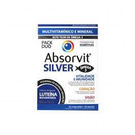 Absorvit Silver 30 comprimidos + 30 cápsulas