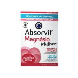 Absorvit Magnésio Complex Especial Mulher 30 comprimidos + 30 cápsulas