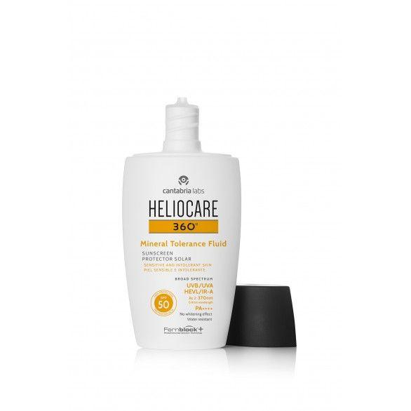 Heliocare 360º Mineral Tolerance Fluido SPF50 50ml