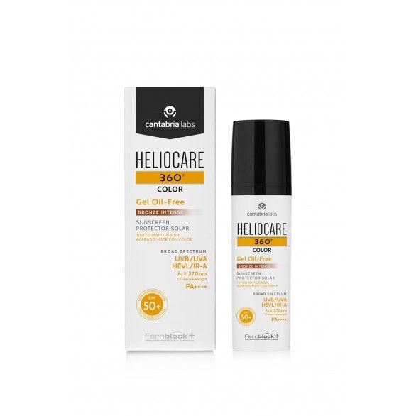 Heliocare 360º Gel Oil-Free Cor Bronze Intense SPF50+ 50ml