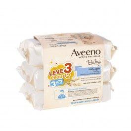 Aveeno Baby Toalhitas de Limpeza 3x72 Unidades