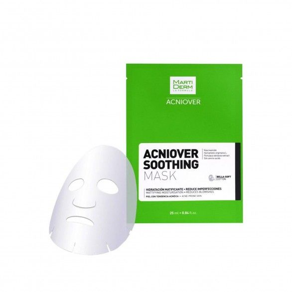 Martiderm Acniove Soothing Mask Hidratante 10 Unidades