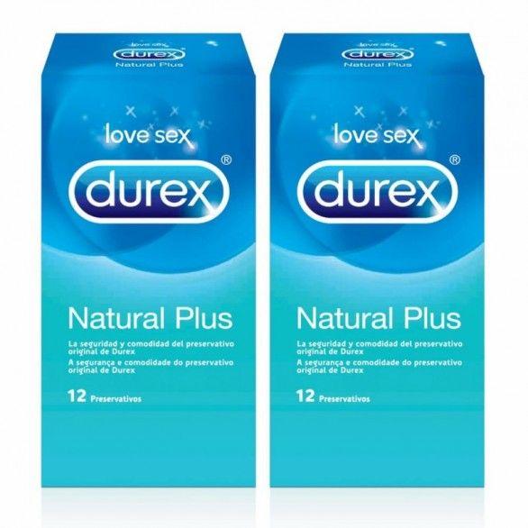 Durex Natural Plus Preservativo 2 x 12 Unidade(s) com Oferta de 2ª Embalagem