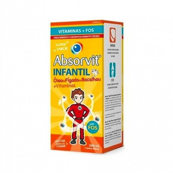 Absorvit Infantil Óleo de Fígado de Bacalhau 150ml