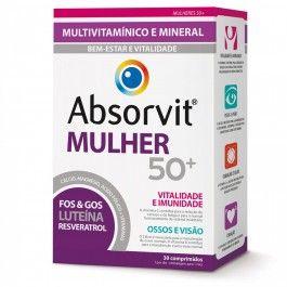 Absorvit Mulher 50+ 30 Comprimidos