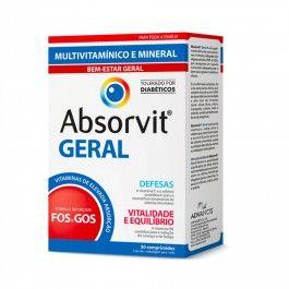 Absorvit Geral 30 Comprimidos