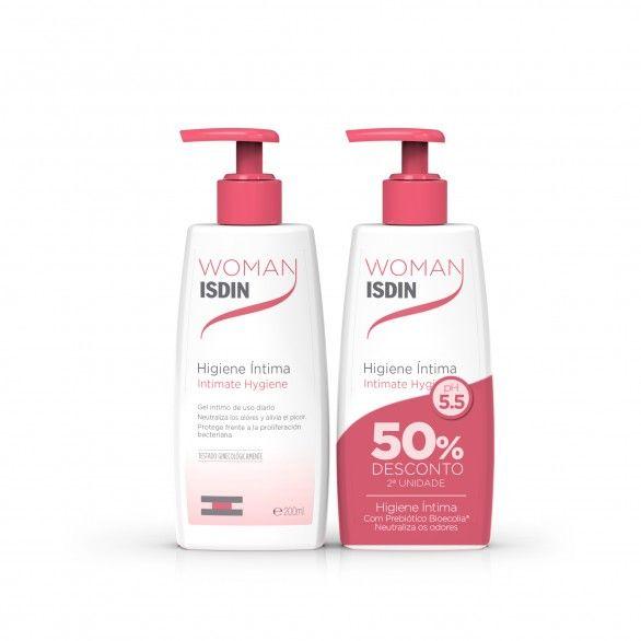 Isdin Woman Higiene Intima Gel 2x200ml
