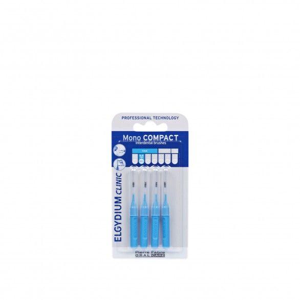 Elgydium Clinic Escovilhões Mono Compact Azul 2 Escovilhões