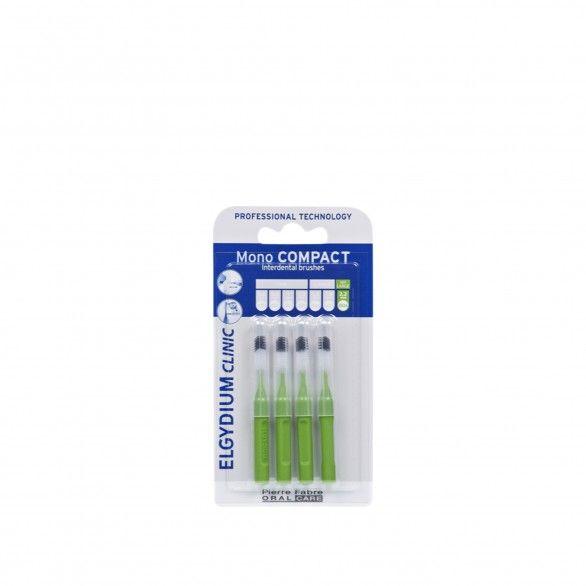 Elgydium Clinic Escovilhão Mono Compact Verde 4 Unidades