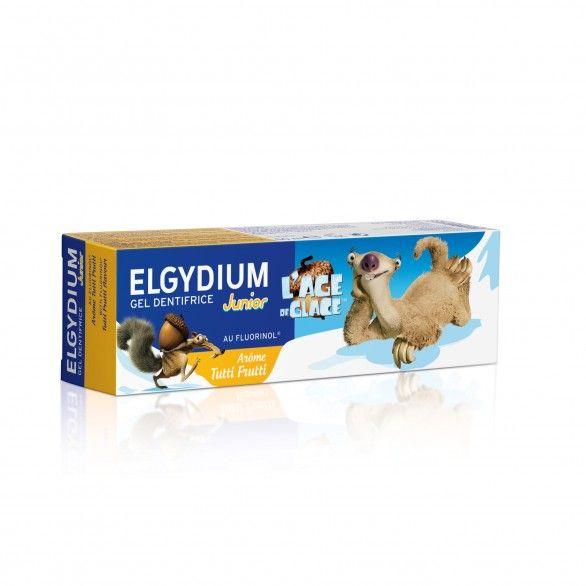 Elgydium Junior Gel Dentífrico Tutti-Fruti Idade do Gelo 50ml