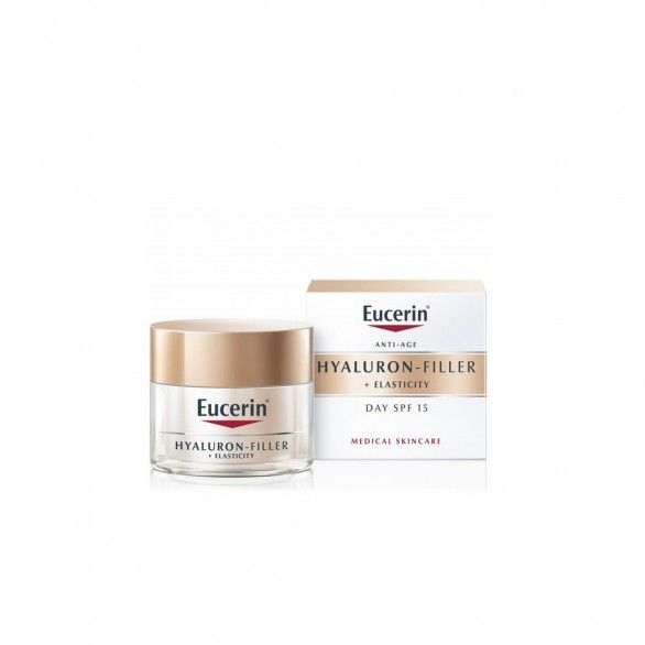 Eucerin Elasticity+Filler Creme de Dia SPF15 50ml