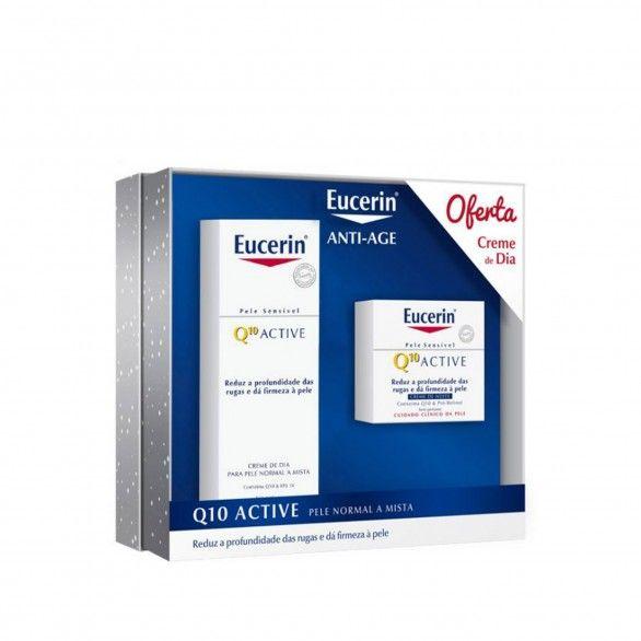 Pack Eucerin Q10 Active Anti-Idade Pele Seca a Sensível