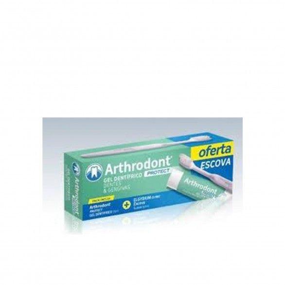 Arthrodont Protect Gel Dentifrico 75ml + Escova Suave
