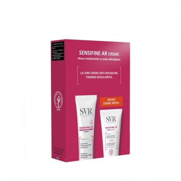 SVR Sensifine AR Pack Creme Anti-Vermelhidão 50ml + Creme SPF50+ 50ml