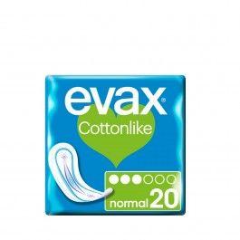 Evax Cottonlike Normal Sem Abas 20 unidades