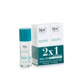 Roc Keops Desodorizante Roll-On 48h 2x30ml