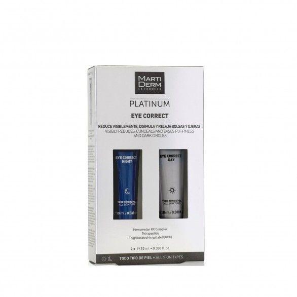 Martiderm Platinum Eye Correct Pack Day Cream 10ml + Night Cream 10ml
